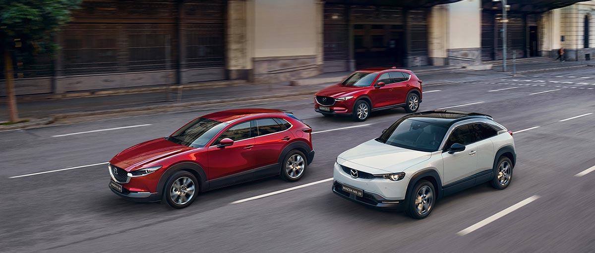 Mazda bonus techno et leasing 1% sur la gamme