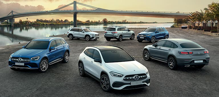 Offres sur nos SUV Mercedes-Benz