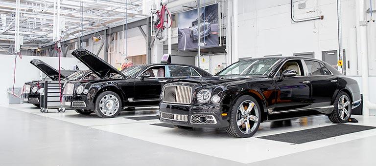 Chef d'atelier mécanique Bentley (H/F)