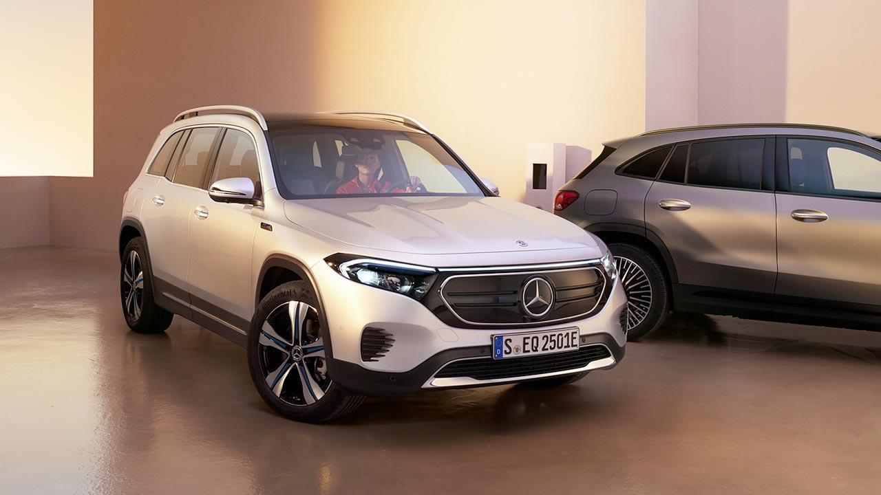 Nouvel EQB de Mercedes-EQ - 7 sièges