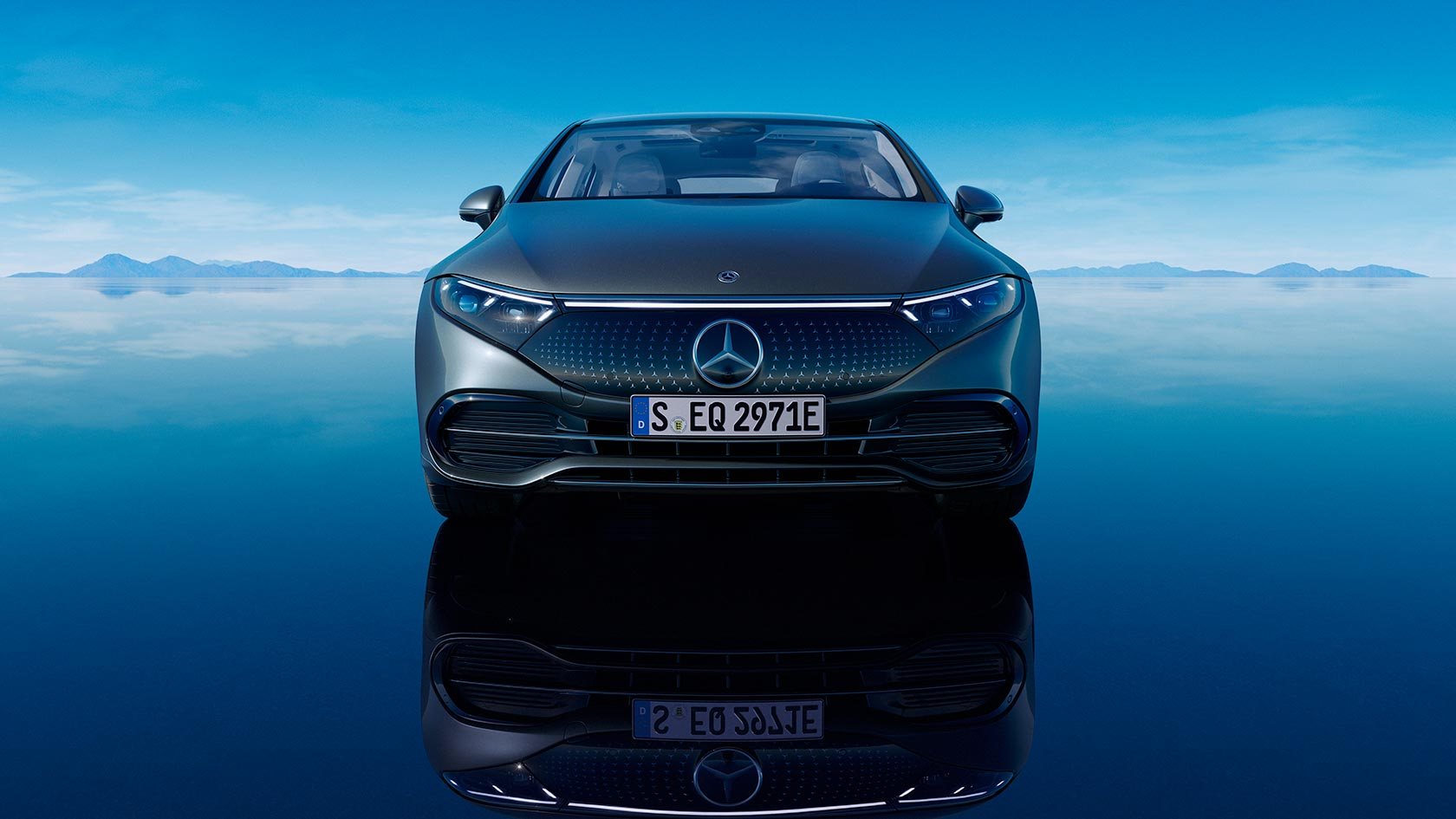 Nouvel EQS de Mercedes-EQ - This is for you, world