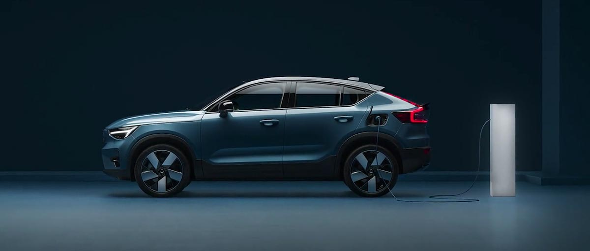 Volvo C40 recharge Pure Electric 2021- Groupe Chevalley