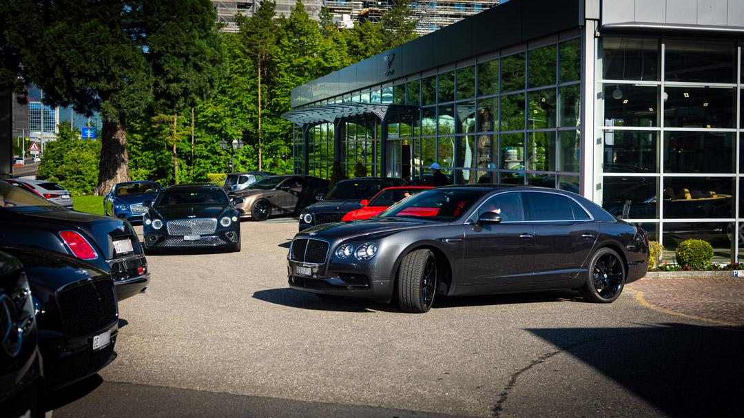 Bentley Genève Swiss Road Trip 2021