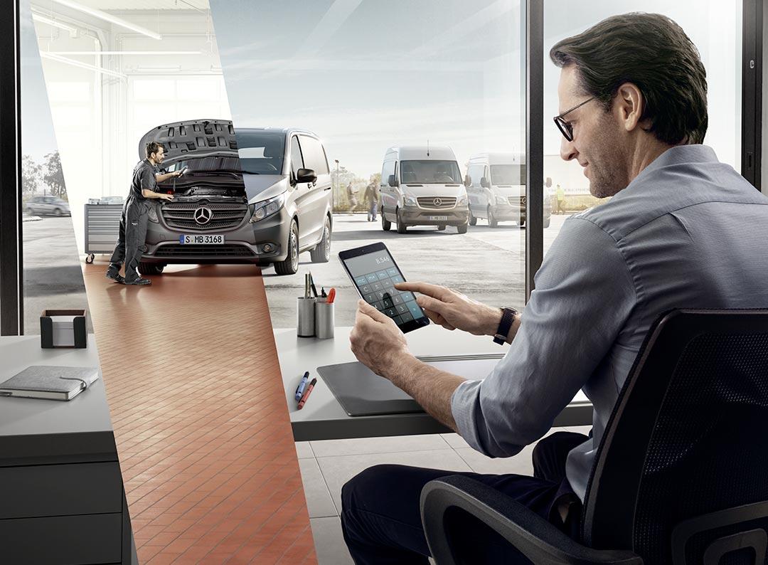 Prestations de service Mercedes Utilitaires