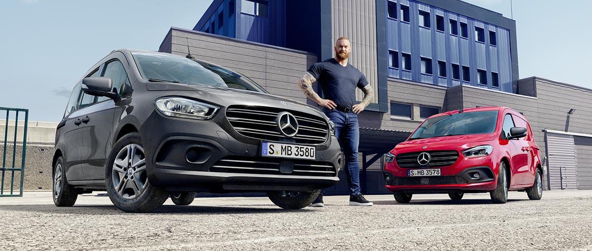Mercedes utilitaire Citan fourgon et tourer 2021