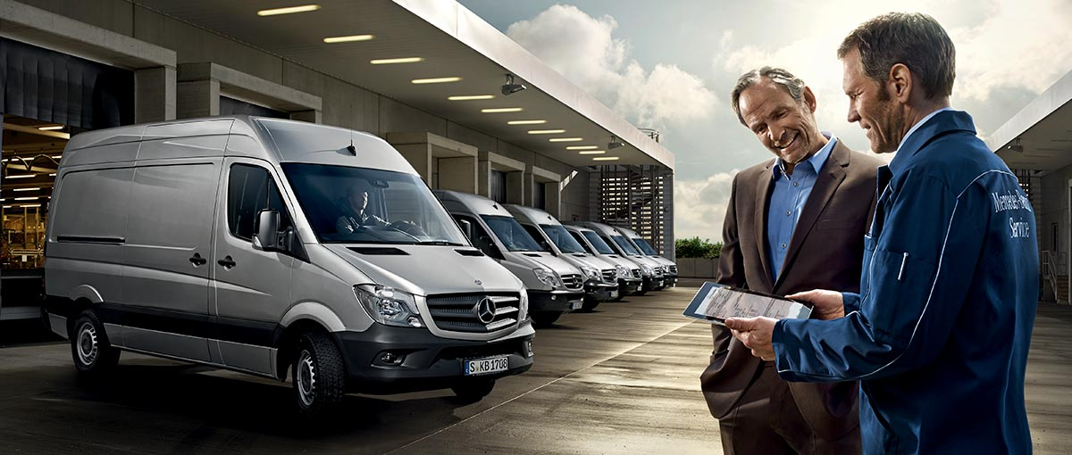 Mercedes Utilitaires service & garantie