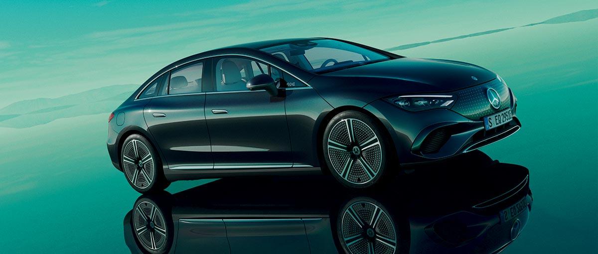Nouvel EQE de Mercedes-EQ – C'est pour tous les sens.